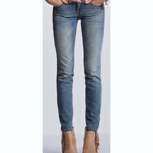 CAbi Ruby Distressed Jeans Style 319 Vintage Wash